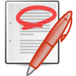 editor's red pen