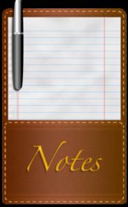 Writer's Notepad