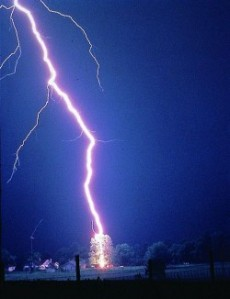 Lightning inspires