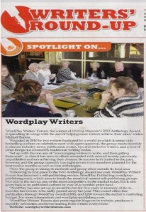 WRiters Mag Nov 2013